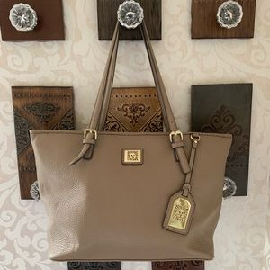 Handbags - ANNE KLEIN | Beautiful Taupe Tote